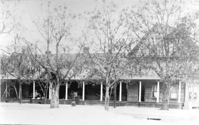 The Church Hotel in Milltown, Georgia built in 1886 by Tom Church.