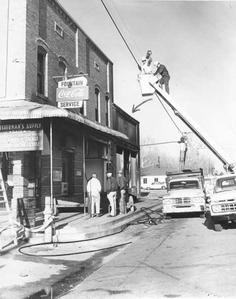 Ray City Fire March 1969