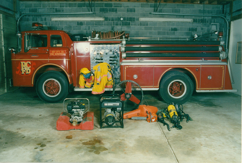 RCFD truck and equipment - February 1999