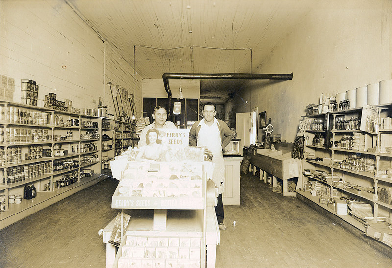 Johnson Grocery, circa 1943