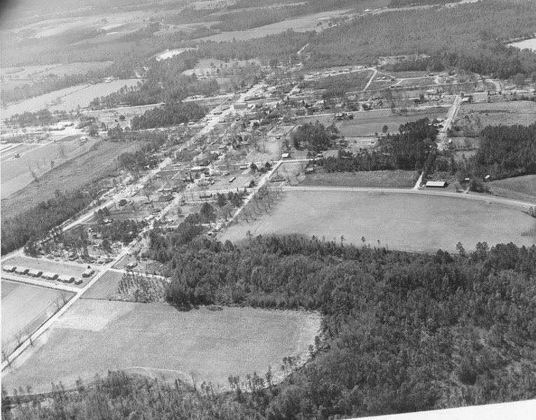 Aerial View of Ray City, April 1970