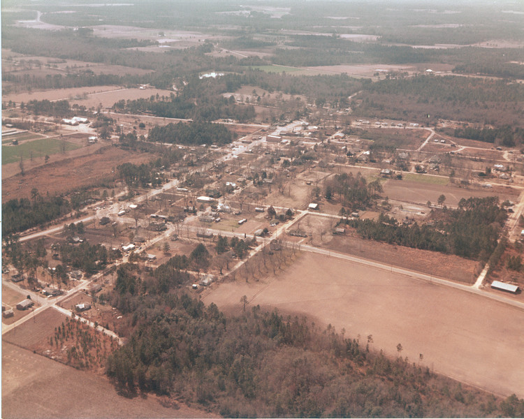 Aerial view of Ray City looking southwest - JC
