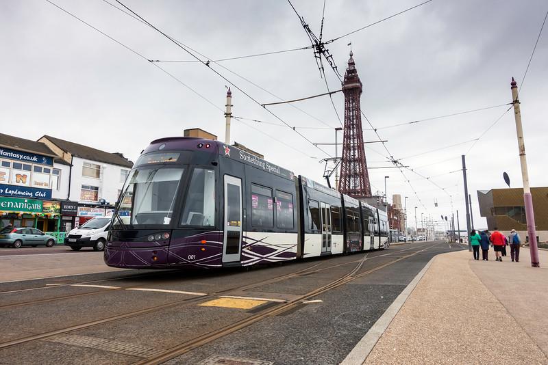 Flexity 2 tram at North Pier