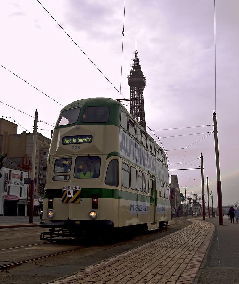 Blackpool 'Balloon' Car 723