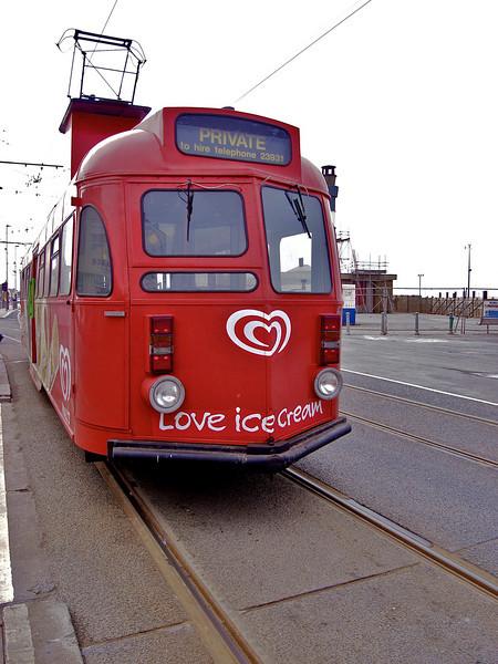 Blackpool 'Brush' car