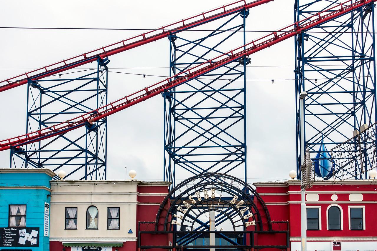 Big Blue Roller Coaster