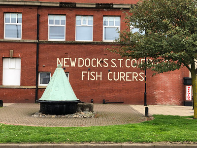 Fish Curers' Building in Fleetwood