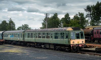 DMU on the Strathspey Railway