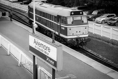 Class 31 D5862 at Aviemore