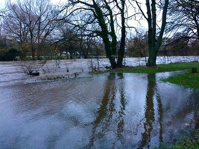 Ilkley – River Wharfe in flood