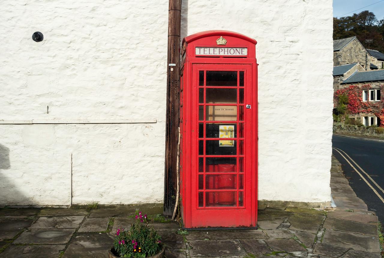 Phone Box at Goose Eye