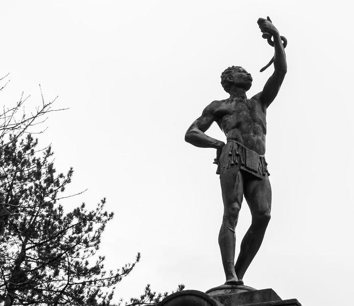 Holden Park statuary