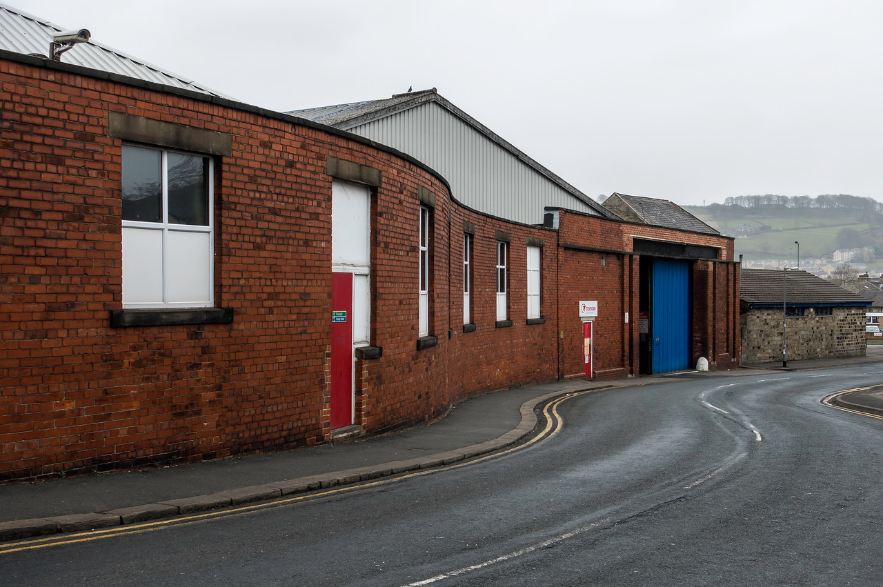 Keighley Bus Depot