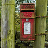 Post Box in Oakworth