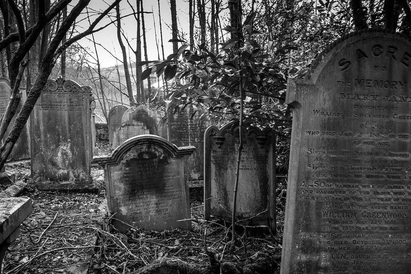 Graveyard in Oxenhope