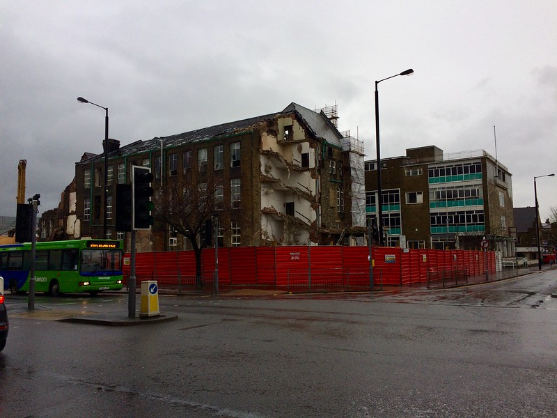 Demolition of Former Keighley Technical College Building