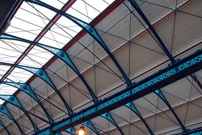 Huddersfield market roof
