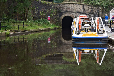 Standedge Tunnel, the longest canal tunnel in England I believe.
