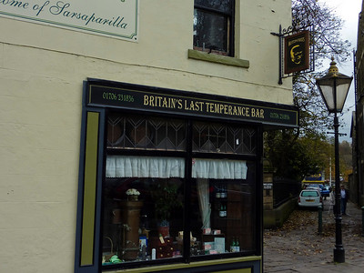 Britain's Last Temperance Bar is also the Home of Sarsaparilla apparently...