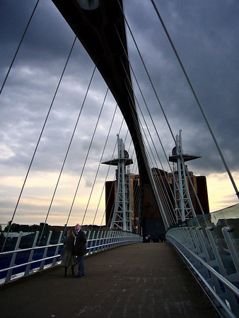 Near The Lowry on Salford Quays