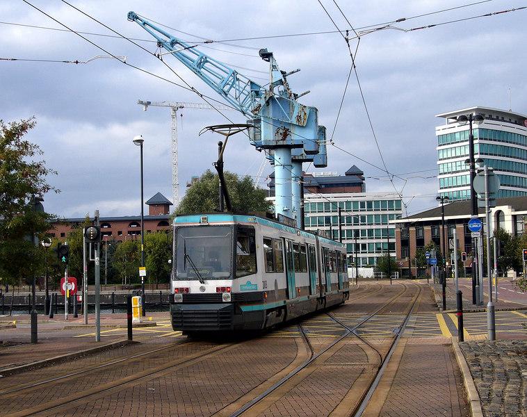 Manchester Metrolink T68 Tram