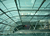 URBIS, Manchester - looking down inside the building from the top