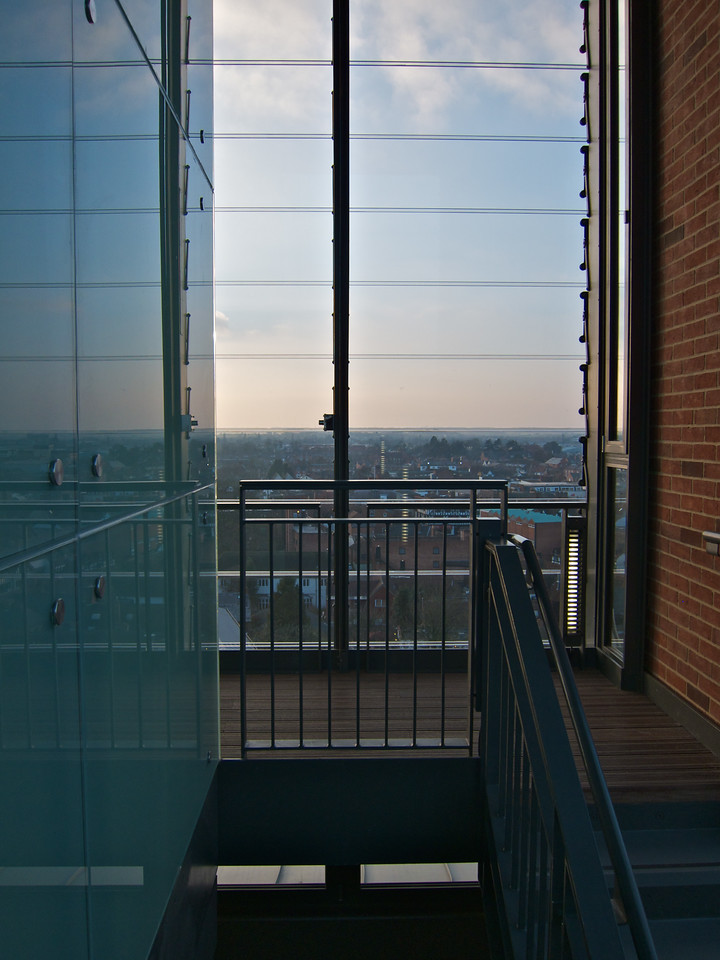 The top of the RSC tower
