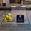 Shakespeare's grave at Holy Trinity church. You have to see it I suppose.