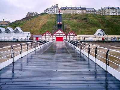 Saltburn Pier and Funicular