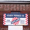 """Fisher, IL Produce Company Sign"""