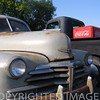 Old Chevrolets truck & Coca Cola at Fisher, IL