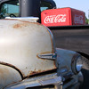 Old Chevrolets & Coca Cola at Fisher, IL