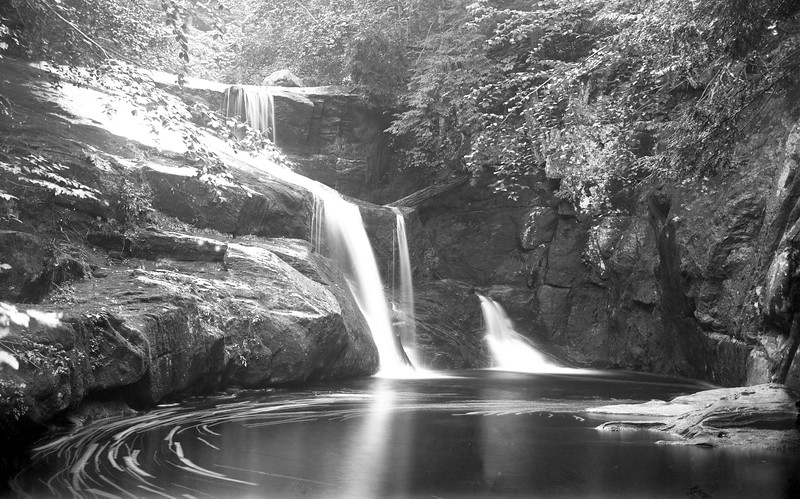 """#3484 - West Branch of Salmon Brook (repaired)<br /> Enders State Park in Granby<br /> [see current pic <a href=""""http://thegranbys.patch.com/articles/the-breathtaking-enders-falls#photo-2727076"""">http://thegranbys.patch.com/articles/the-breathtaking-enders-falls#photo-2727076</a>]"""