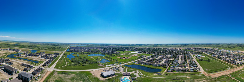 Aerial View of Martensville