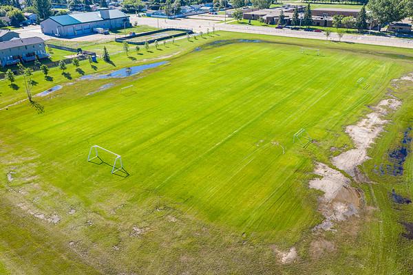 Percy Hoff Soccer Pitch