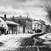 #500 - Winsted downtown, a picture of an existing picture<br /> 8 x 10 negative