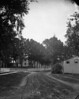 """#4275 - """"Main Street - 1881""""<br /> Printed 1-9-30<br /> [an old negative - 2 on one plate]"""
