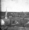 "#4299 - ""Prospect Street from Camp's Hill - 1876""<br /> Printed 10-16-13<br /> [an old negative - 2 on one plate]"