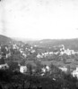 """#4298 - """"East Winsted from Highland Lake Park - 1879""""<br /> Printed Oct. 16, 1913<br /> [an old negative - 2 on one plate]"""