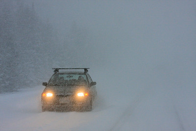 "GRAND PORTAGE 3656  ""Heavy blizzard conditions on Highway 61, December 2008"""