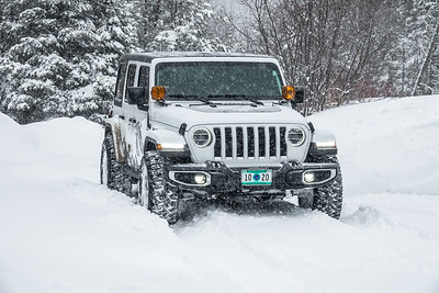 """Snow days are fun in a Jeep!"""
