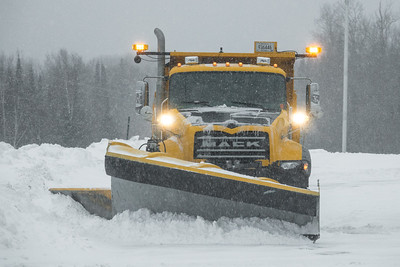 "TRANSPORTATION 00565  ""County Plow - Ready to go!""  Grand Portage, MN"
