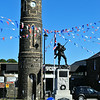 War memorial<br /> Bushmills<br /> County Antrim<br /> 26th August 2014