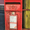 Royal Mail Postbox<br /> Bushmills<br /> County Antrim<br /> 26th August 2014