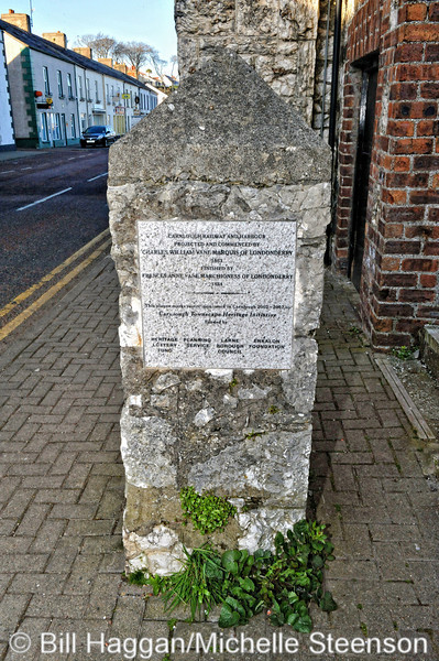 Memorial to Lord Londonderry, Carnlough, County Antrim