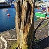 Mooring post. Carnlough harbour, County Antrim