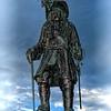 King William III at Carrickfergus Harbour.
