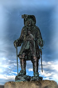King William III at Carrickfergus Harbour.