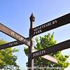 Signpost, Carrickfergus, County Antrim