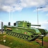 Churchill Mark VII Tank<br /> Carrickfergus <br /> County Antrim<br /> Friday, 27th March 2015